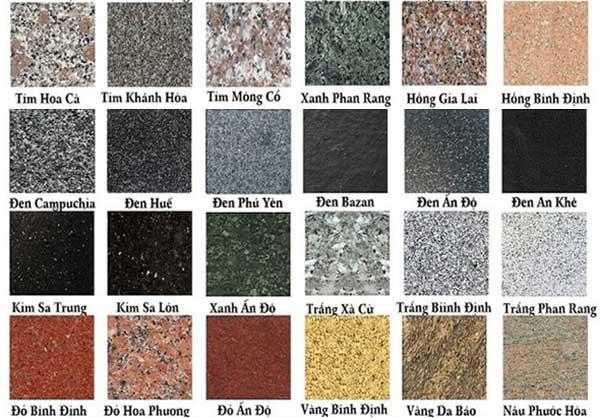 đá granite tại hải phòng