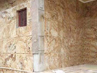 Đá Granite vàng Anh ốp mặt tiền Hải Phòng