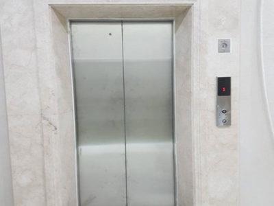 Đá Marble trắng ốp thang máy