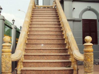 Đá ốp cầu thang ngoại thất SC001