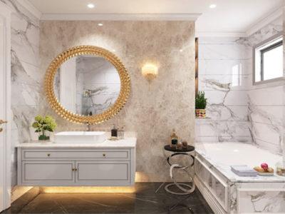 tư vấn chọn đá granite phù hợp cho phòng tắm