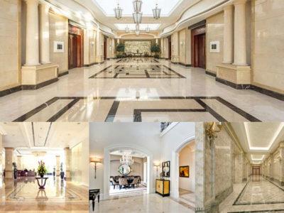 bảo vệ duy trì vẻ đẹp của sàn đá marble