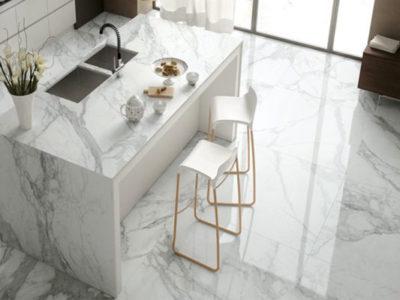 các bước làm vệ sinh cho sàn đá marble