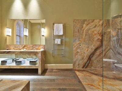 cách chọn đá ốp tường cho phòng tắm hiệu quả
