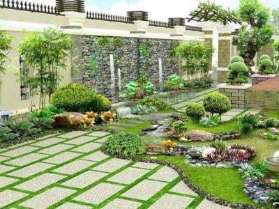 tìm hiểu về phong thủy đá tự nhiên lát sân vườn
