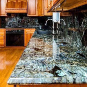 cách làm mới đá granite xỉn màu trong phòng bếp