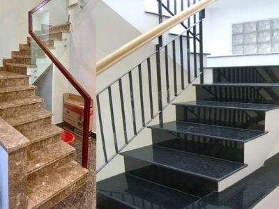 nên chọn đá ốp cầu thang màu gì