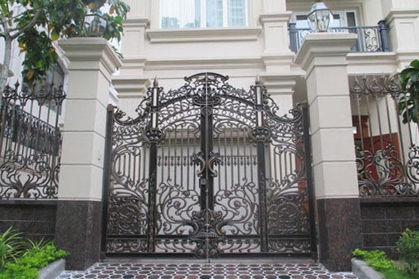 mẫu đá ốp cổng đẹp