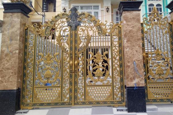 mẫu đá ốp cổng đẹp giá rẻ