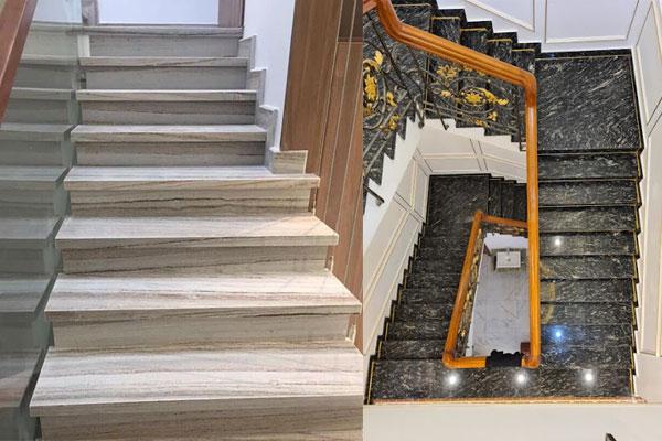 kinh nghiệm chọn lựa đá ốp cầu thang