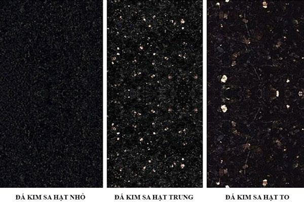 những tìm hiểu về đá granite kim sa đen