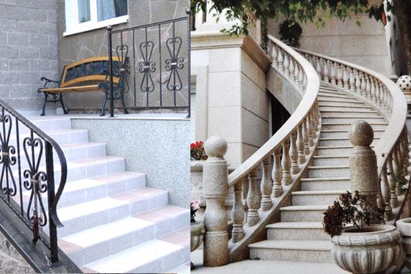 cách chọn đá ốp lát cầu thang ngoài trời