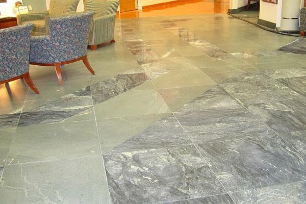 chọn lát nền với đá tự nhiên granite