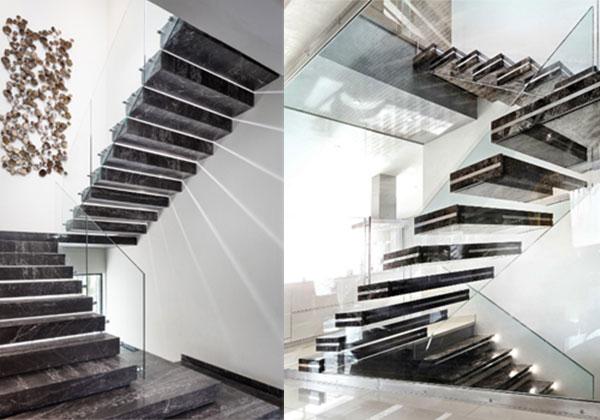 cần lưu ý gì khi chọn đá marble ốp cầu thang