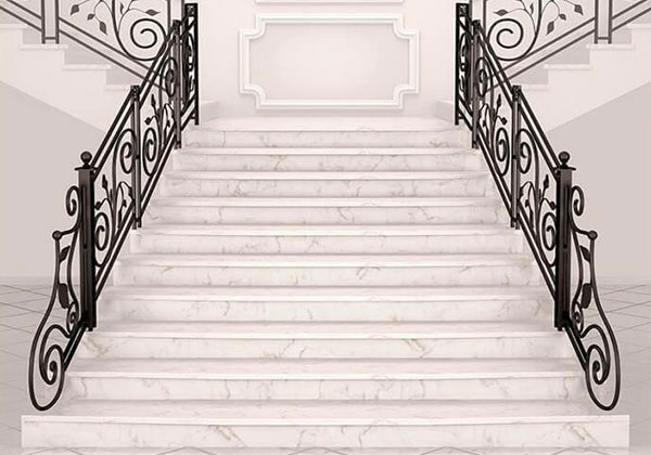 những điều cần lưu ý khi chọn đá marble ốp cầu thang