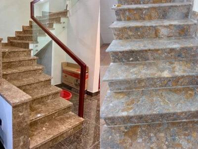 tại sao chọn đá thanh hóa ốp cầu thang